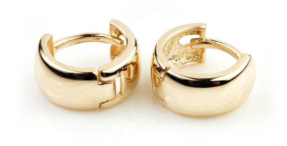 9ct Gold Mini Cartilage Huggie Earring