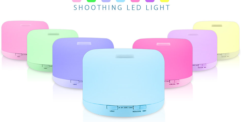 RGB Aroma Diffuser with Black Controller