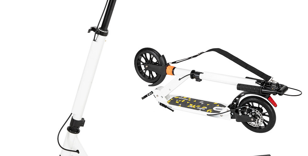 Scooter For Adult&Teens, 3 Height Adjustable Easy Folding Double Shock Absorber