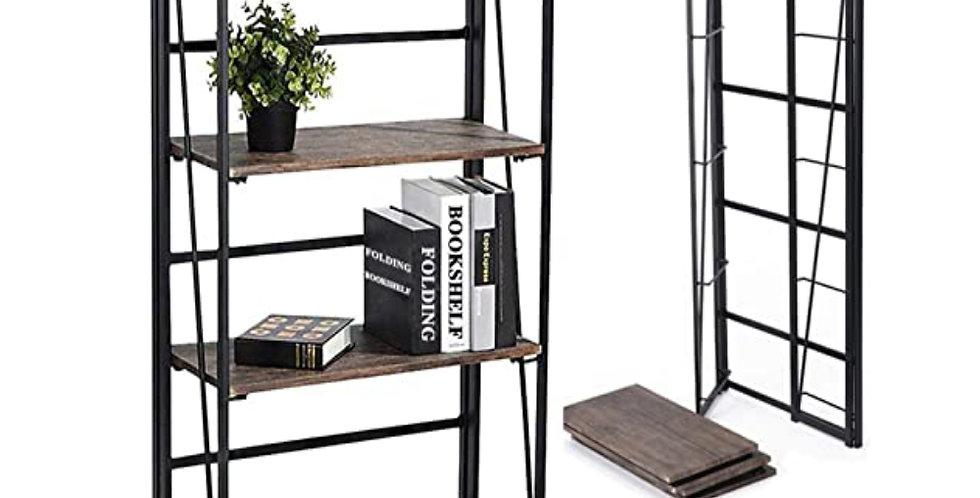 Folding Bookshelf Home Office