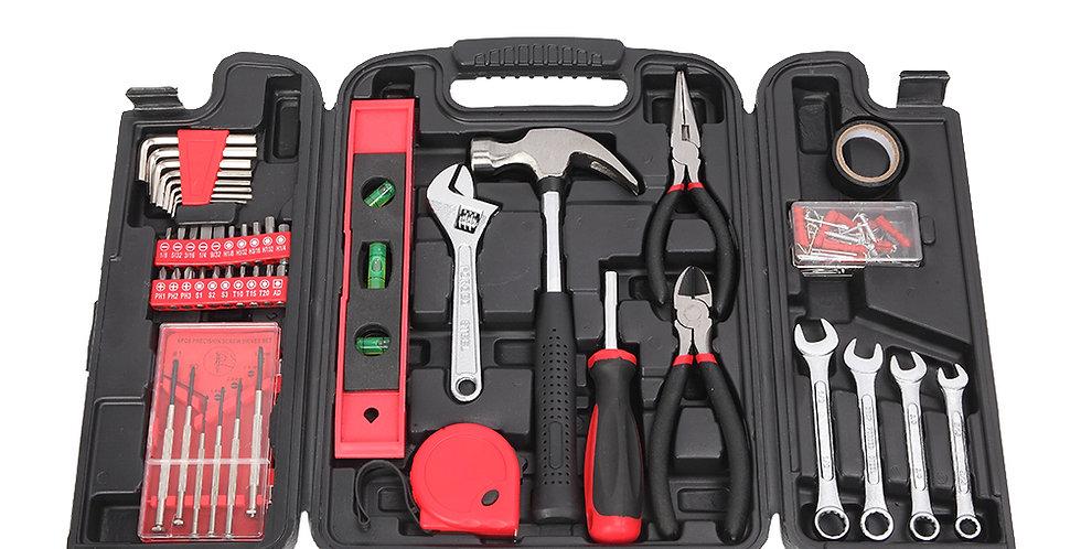 136pcs Tool Set Red