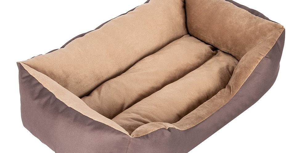 Large Size Pet Bed Dog Mat Cat Pad Soft PP Cotton Brown