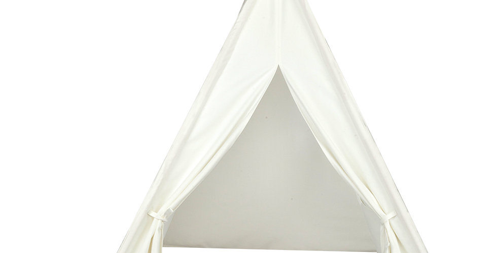4pcs Wooden Poles Teepee Tent for Kids - MULTICOLOR