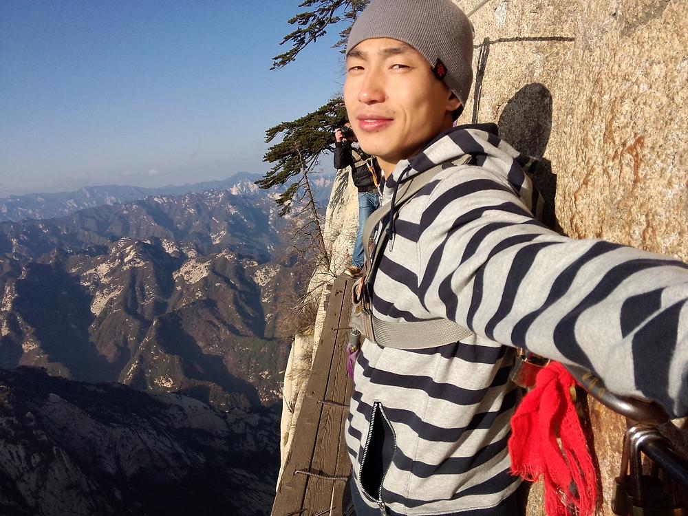 Sky Walk in Hua Mountain
