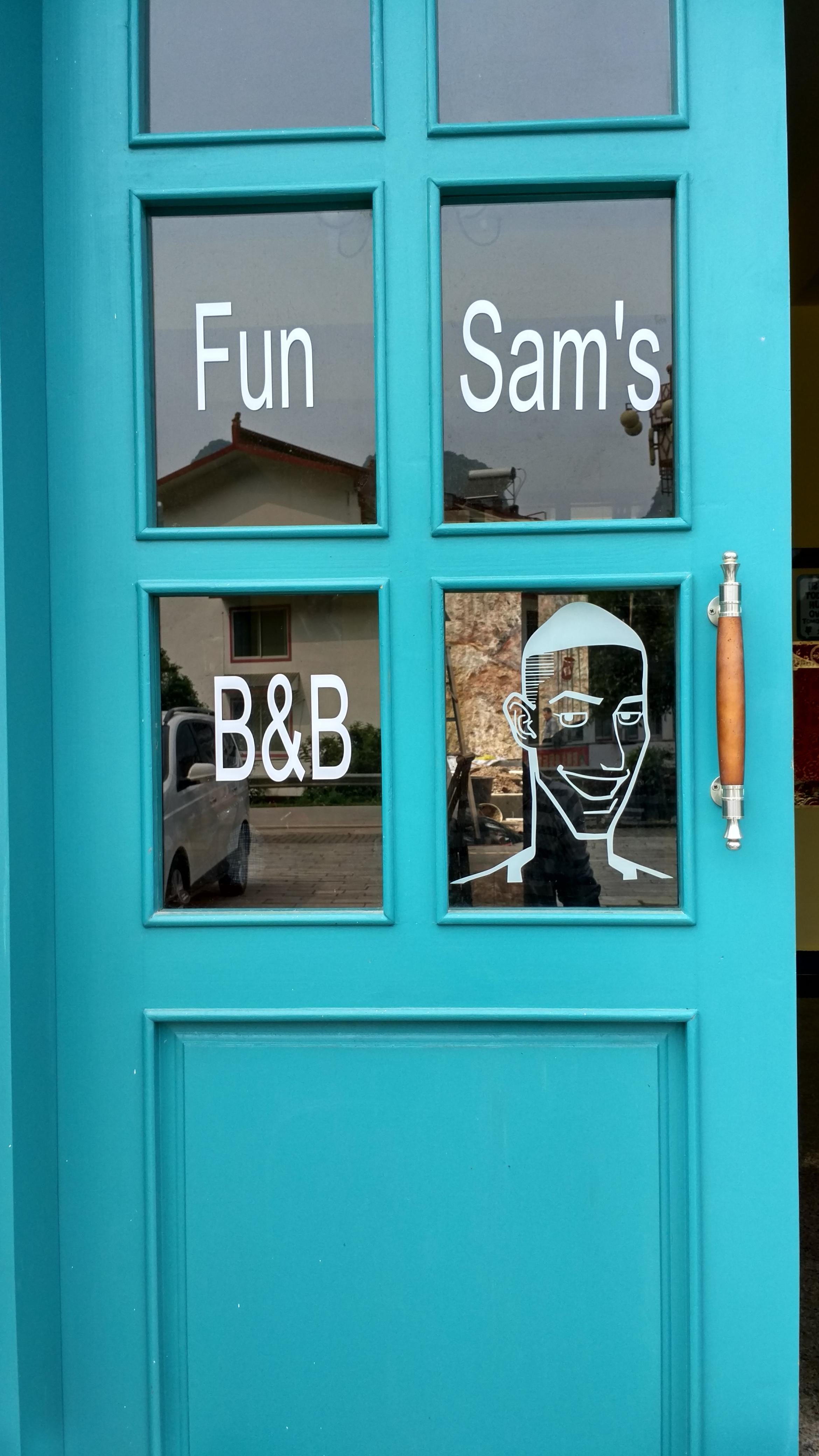 Front door Sam's