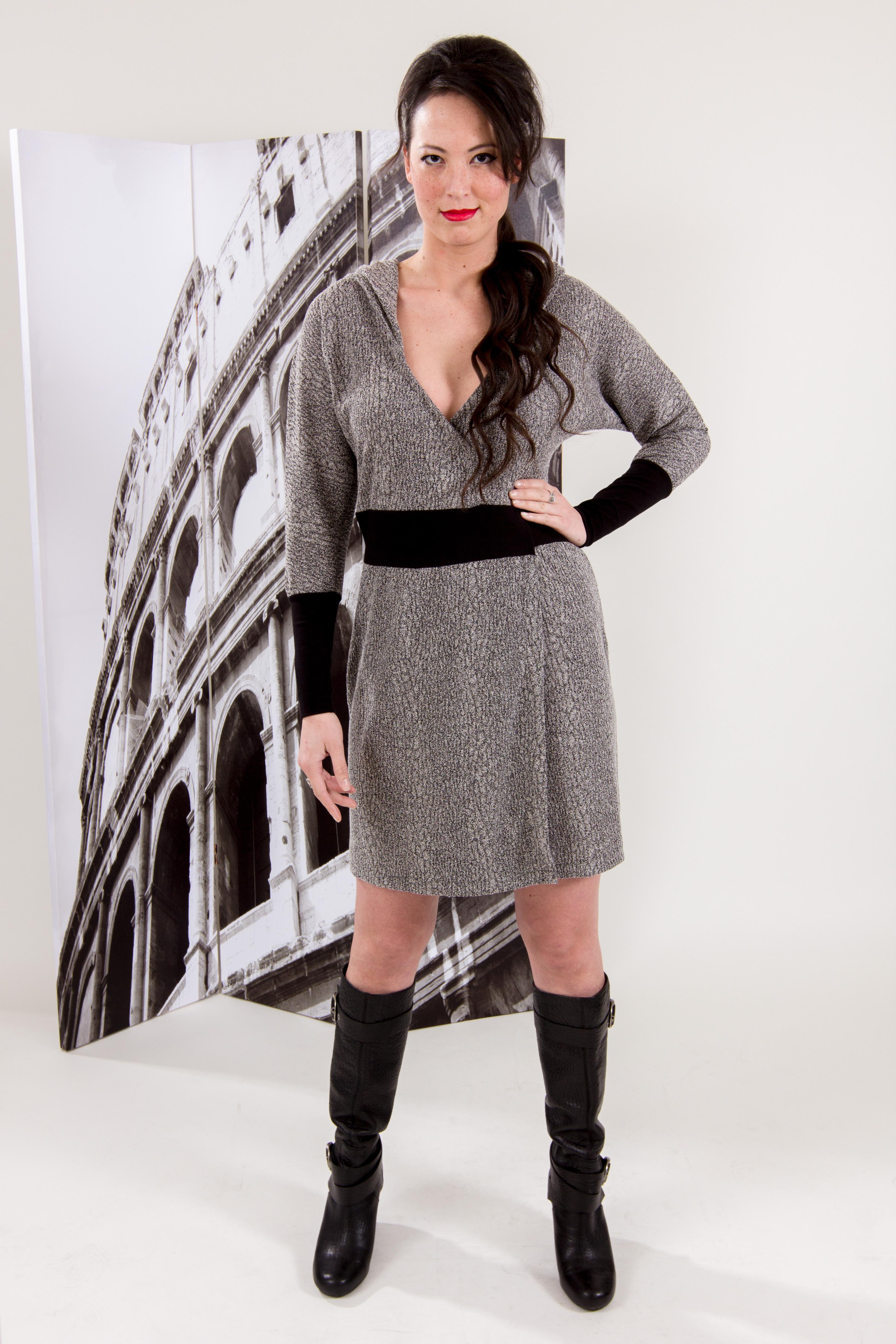 Salaria wrap dress