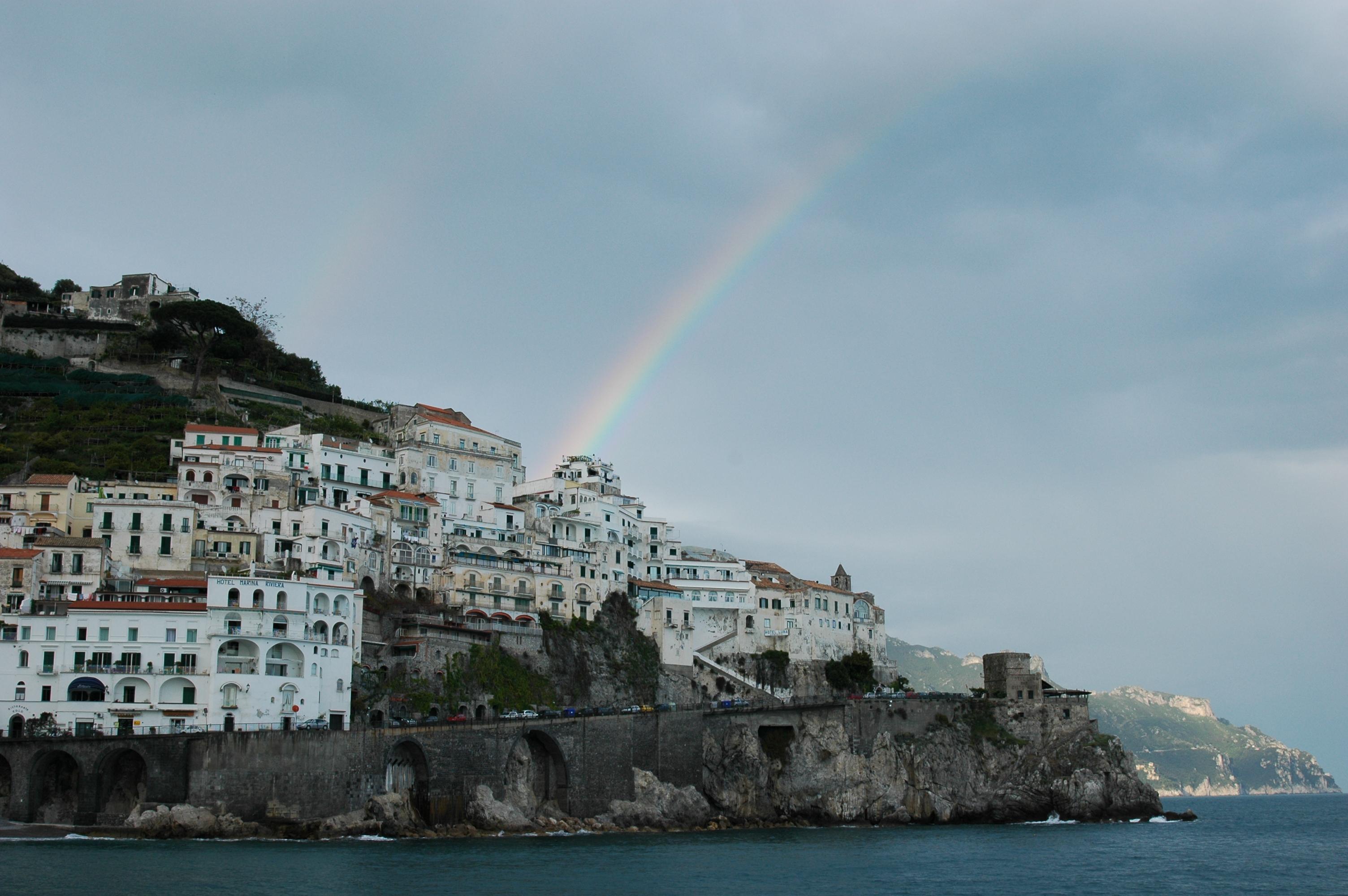 Rainbow in Amafi