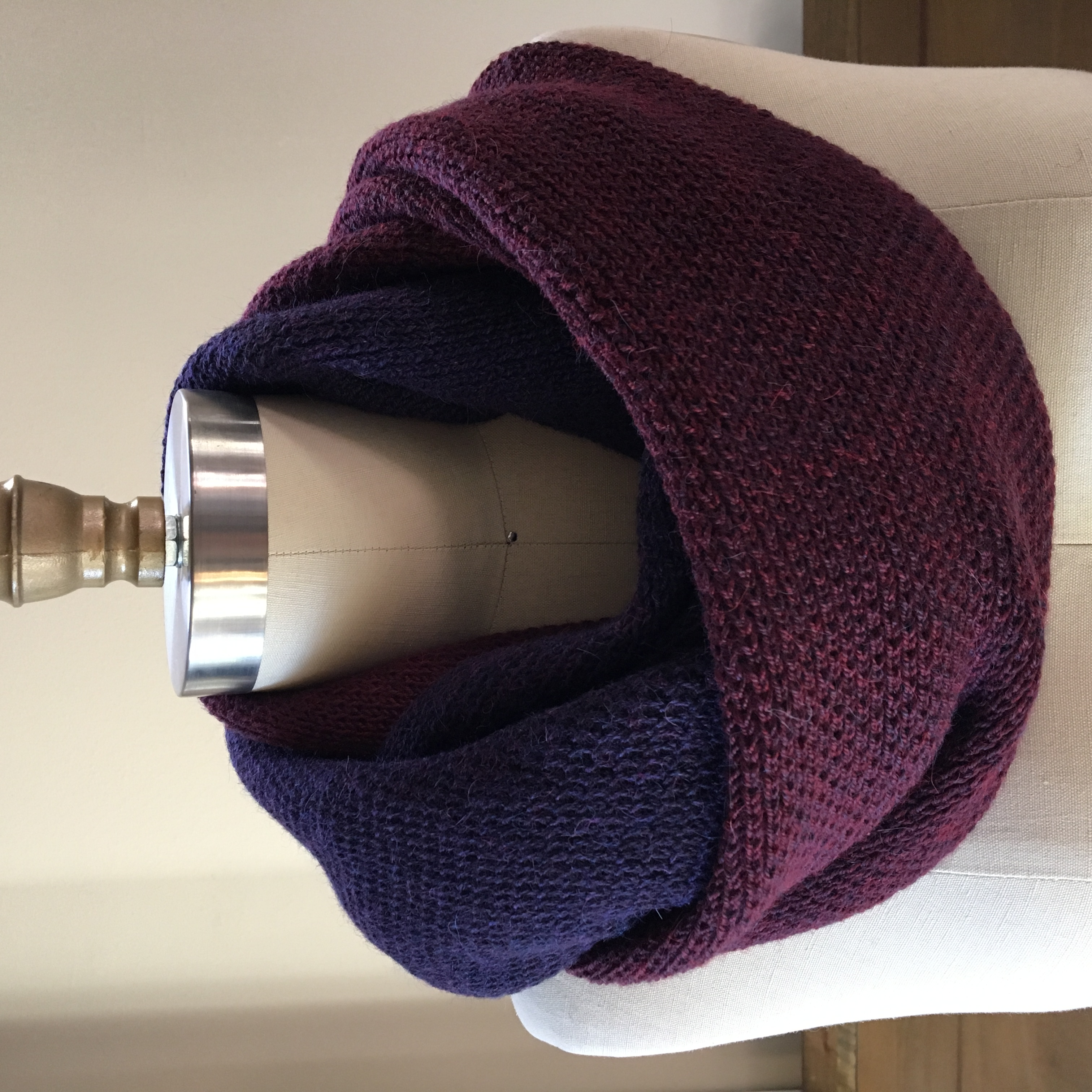 Baby Llama LUX Cowl - Red Berries & Pinot Noir 2