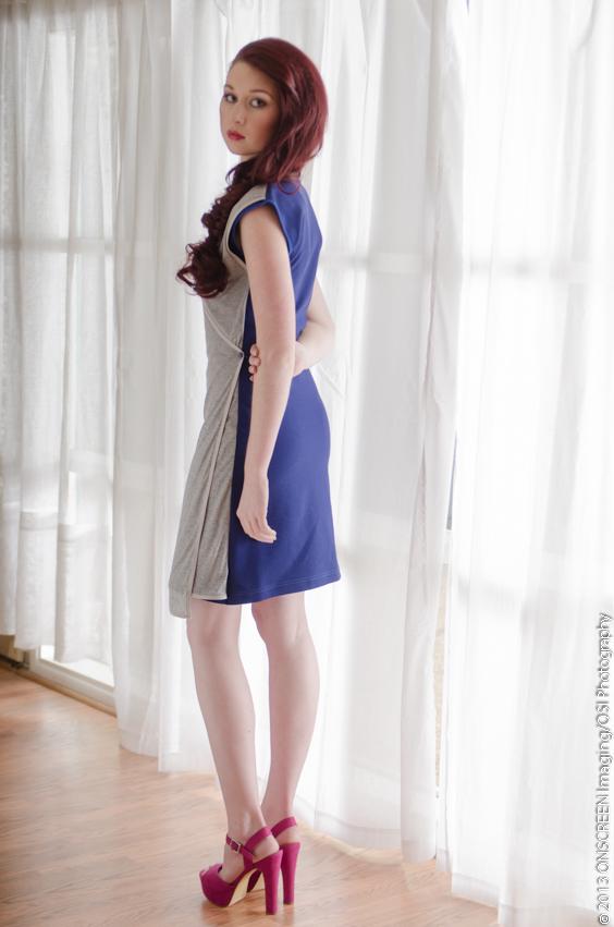 Corniglia wrap dress