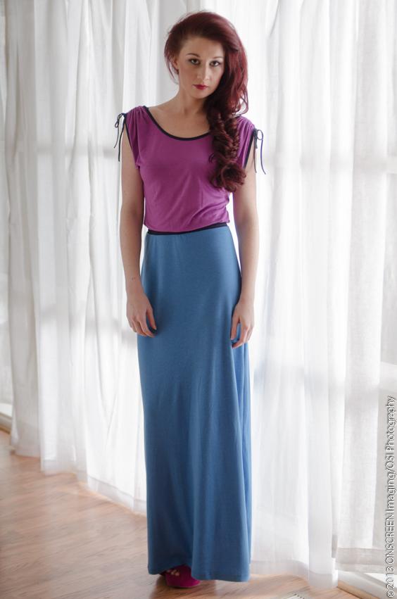 Monterosso al Mare maxi dress