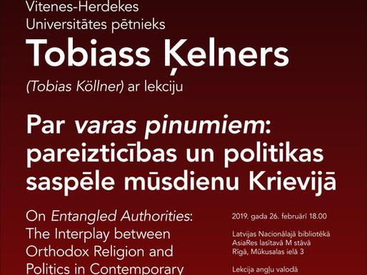 Tobiass Ķelners: Pareizticības un politikas saspēle mūsdienu Krievijā
