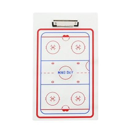 Доска тактическая хоккейная Mad Guy 23x40 см.