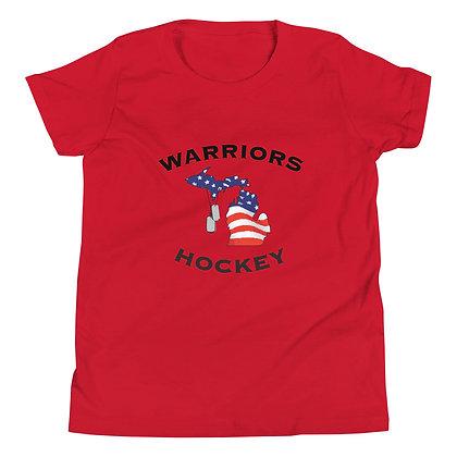 Michigan Warriors Hockey Youth T-Shirt