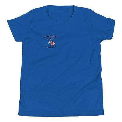Michigan Warriors Hockey Youth T-Shirt - Back Graphic