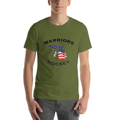 Michigan Warriors Hockey Short-Sleeve T-Shirt