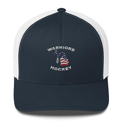 Michigan Warriors Hockey Trucker Cap