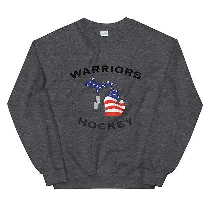 Michigan Warriors Hockey Sweatshirt