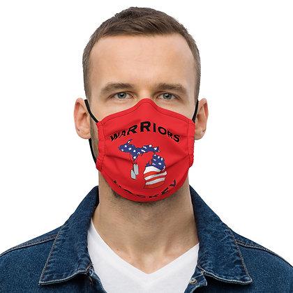Michigan Warriors Hockey Premium Face Mask