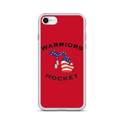 Michigan Warriors Hockey iPhone Case