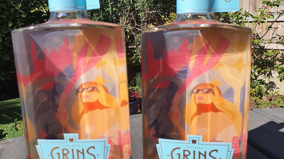 Grins - Pink Prosecco Gin