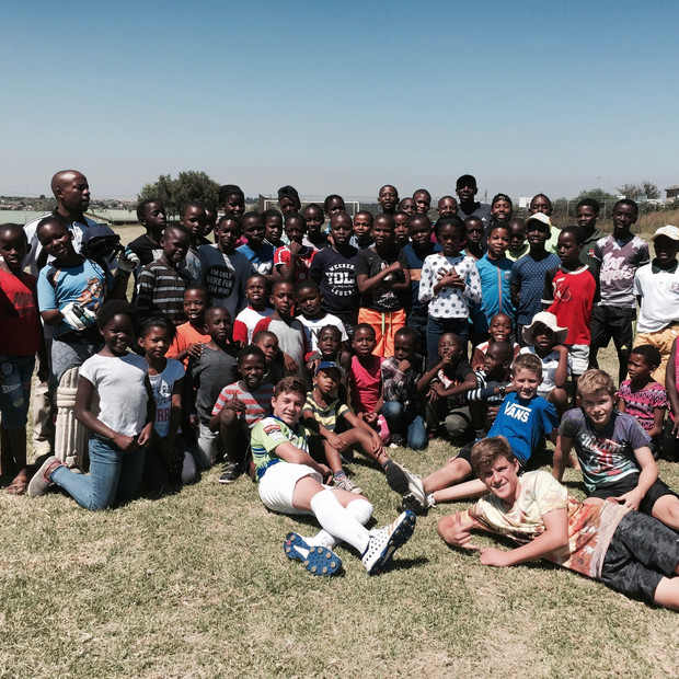 Infantry Sponsors youth cricket at Olievenhoutbosch Primary School