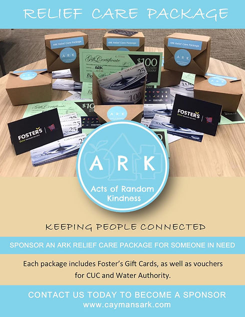 ARK's 2020 Relief Care Packages