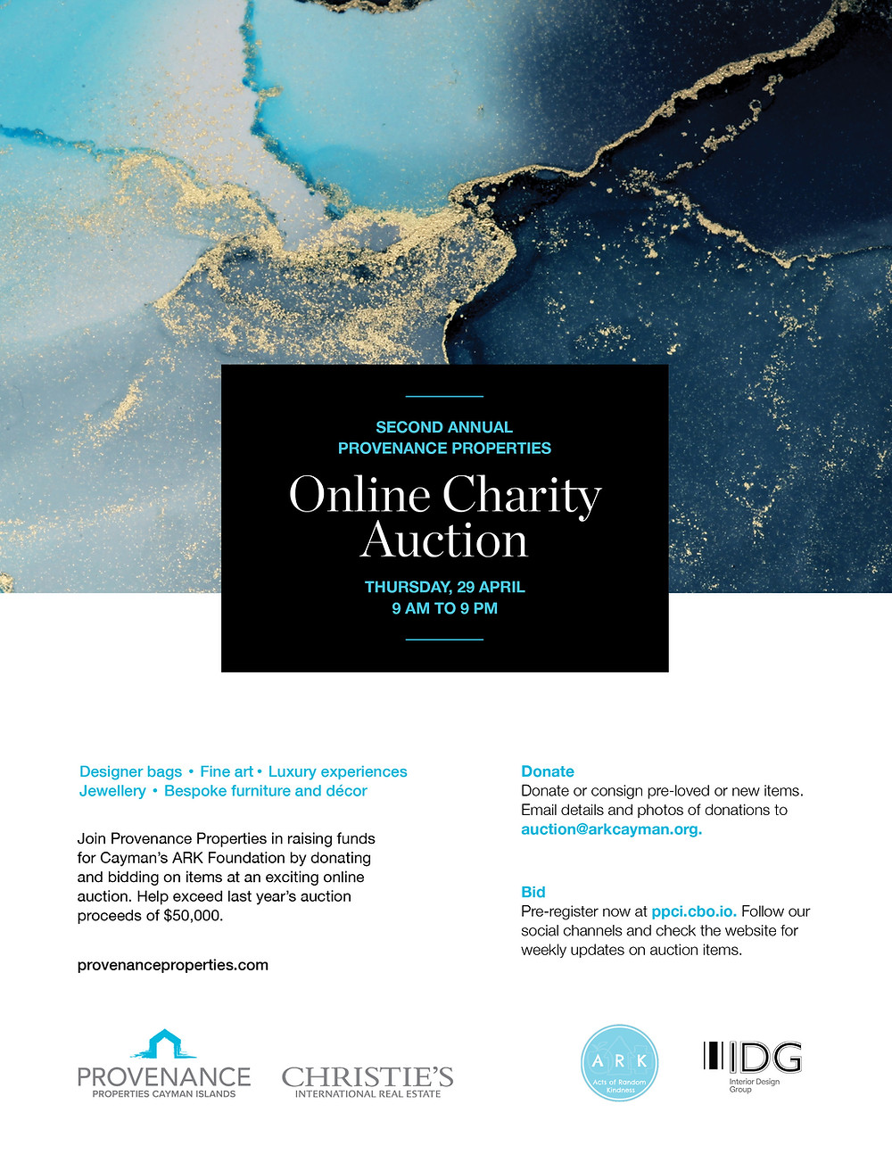 2021 Online Charity Auction