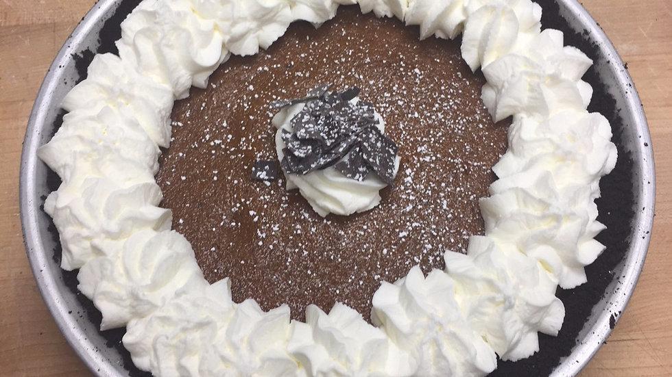 Pumpkin Pie with Oreo Cookie Crust