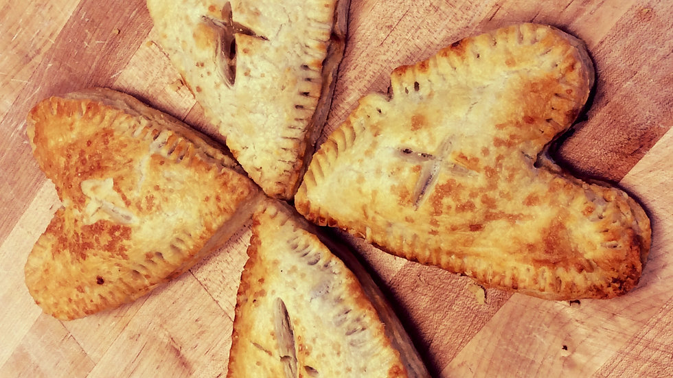 Heart Shaped Apple Hand Pies-2 pack!