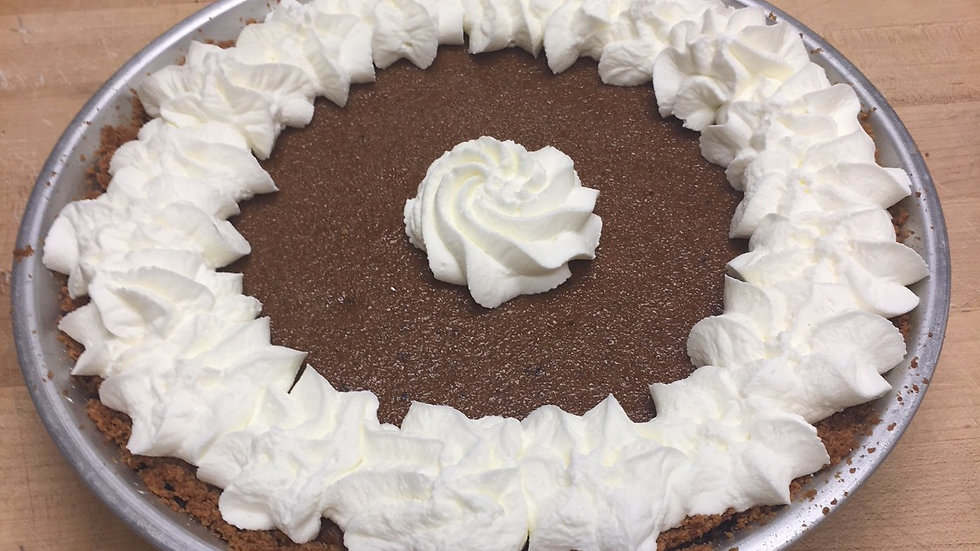 Pumpkin Pie on Graham Cookie Crust