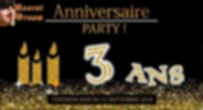 Soiree Anniversaire 3 ans Secret Dream.j