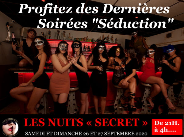 Soiree Seduction au bar a champagne a Ly