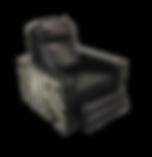 custom 2 tone reciner chair