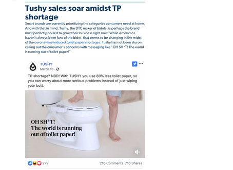 [Blog Post] Tushy, Blue Apron, Peloton: How DTC brands adapt as people shop from home