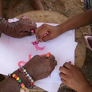 Comunidad wayuú Uchitú del Cabo de la Vela - Colombia