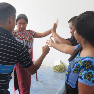 Equipo docente del Lago Atitlán - Guatemala