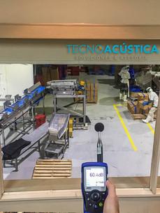 Estudio Acústico - Aislamiento en Industria