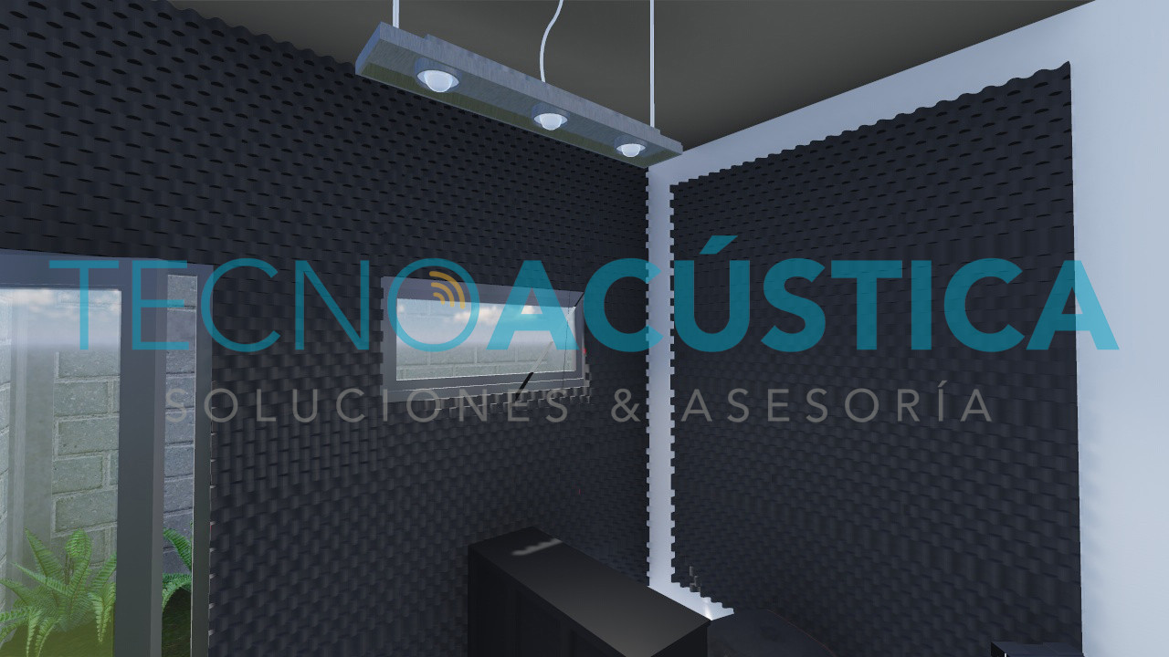 Diseño - Sala de ensayo/estudio - Aislamiento y Absorción