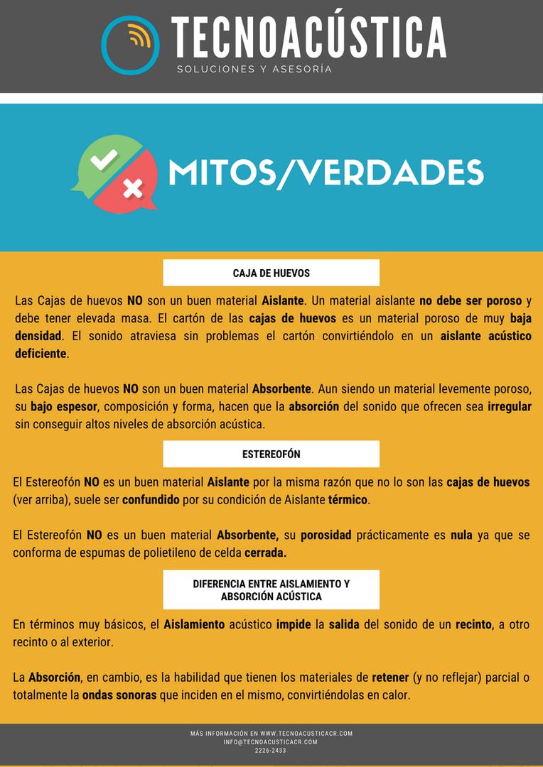 Mitos/Verdades