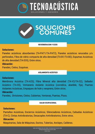 Soluciones Comunes