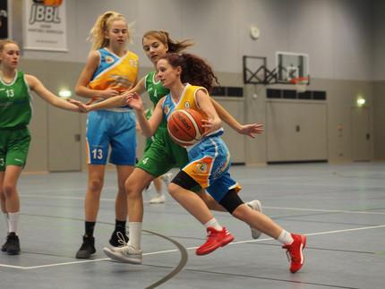 Würzburg lässt U16 Mädels keine Chance