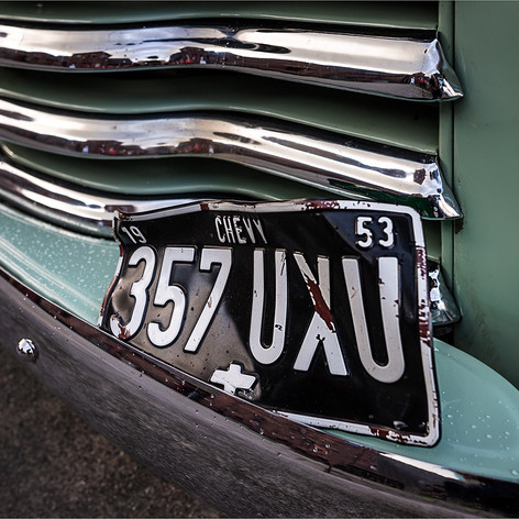 '53 Chevy in Green