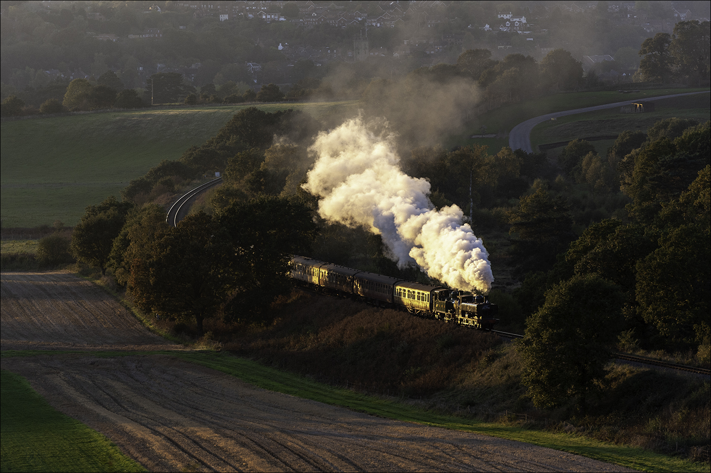 Evening light on the SVR