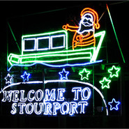 Stourport Christmas Lights