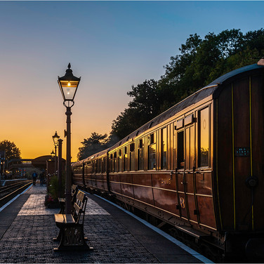 Gresley Sunset