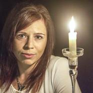 Candle lit Portrait