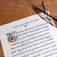 A Calligrapher's Colophon