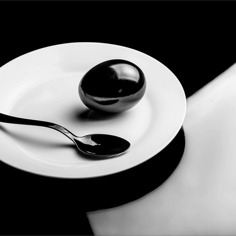 Egg, Spoon and Plate