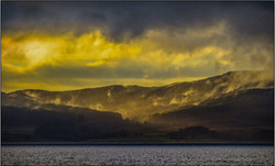 Sunset over Kintyre
