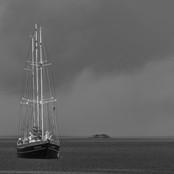Tall Ship at Anchor